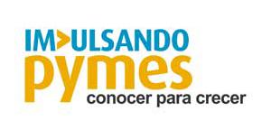 Logotipo impulsando pymes