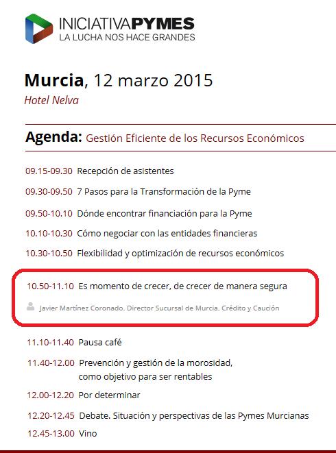 foro Iniciativa Pymes de Murcia