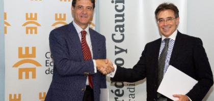 Acuerdo de colaboración entre el Colegio de Economistas de Madrid y Crédito y Caución